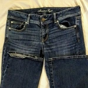💥 American Eagle Slim Boot Jeans Size 12